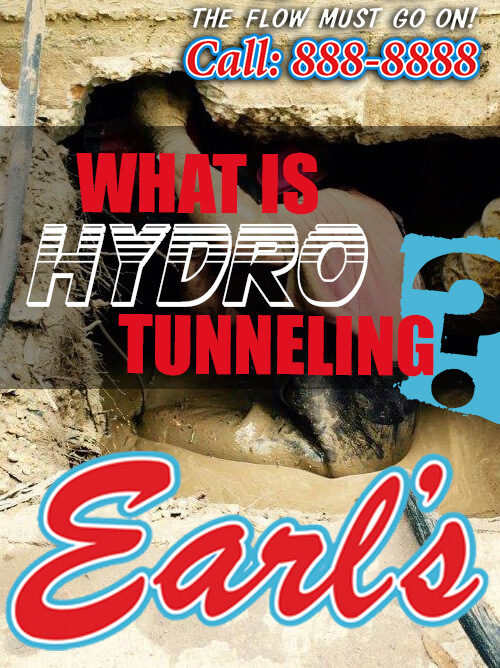 What is Hydro Tunneling?