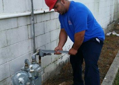 gas repairs, installation and inspection