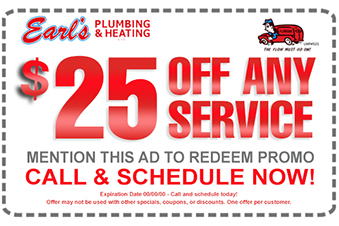 Plumbing Repair, Sales, Installation, Drain Cleaning, and Video Pipe Inspection Specials & Coupons