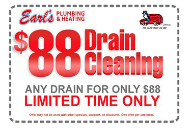 Plumbing Coupons and Specials - $299 Garbage Disposal Special